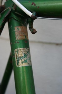 1959 Helyett Speciale seat tube decals 2