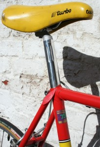 1978 Raleigh Team seat post