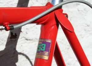 1978 Raleigh Team seat cluster