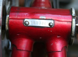 1975 Peugeot PX10 Serial Number