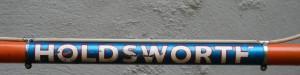 1969 Holdsworth Professional top tube