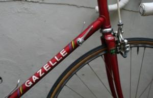 1984 Gazelle down tube
