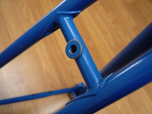 1972-3 Motobecane rear brake bridge