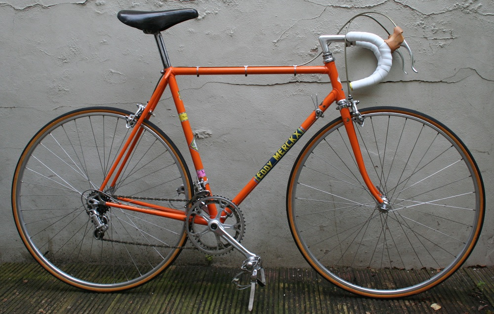 1972 Eddy Merckx Racing Bike By Kessels