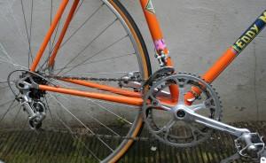 1972 Eddy Merckx drivetrain