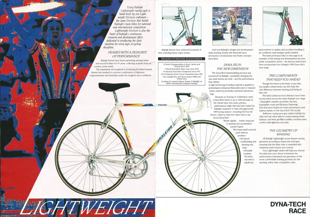 1990 Raleigh Catalogue (2-3)