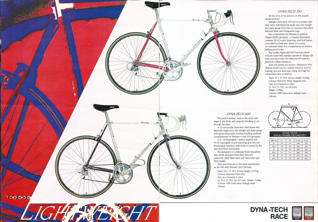 1990 Raleigh Catalogue (4-5)