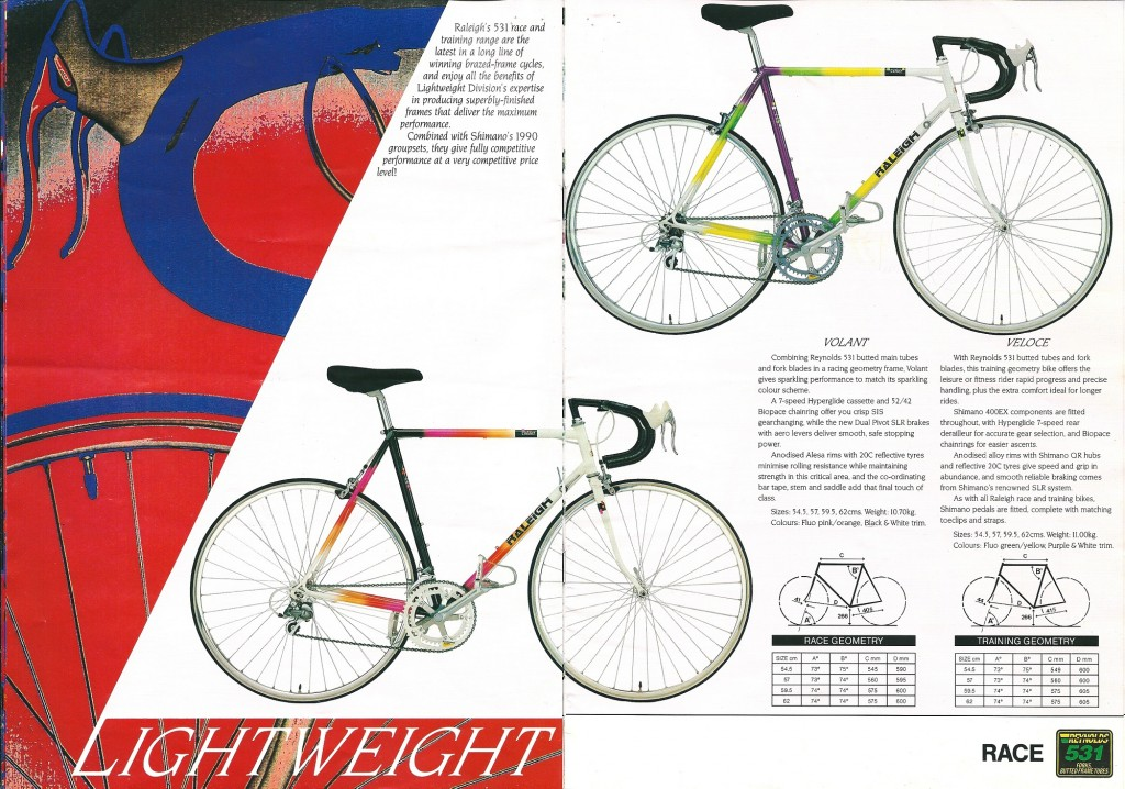 1990 Raleigh Catalogue (8-9)