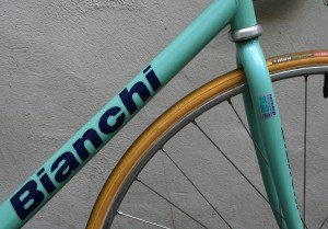 Bianchi Pista DT and fork