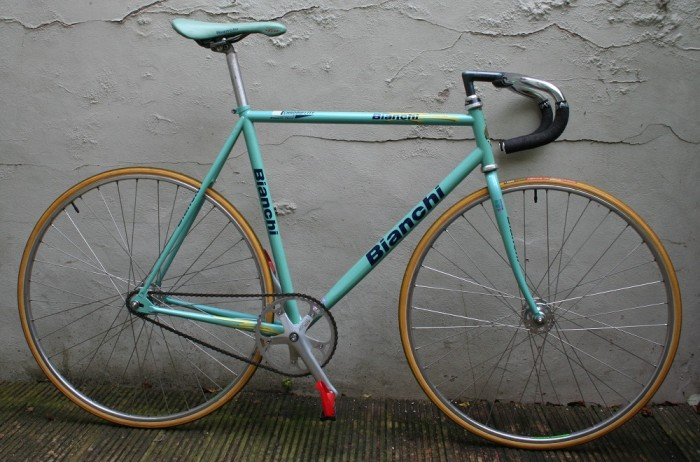 1999 Bianchi Pista Track Racing Bicycle