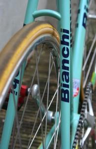 Bianchi Pista seatstays