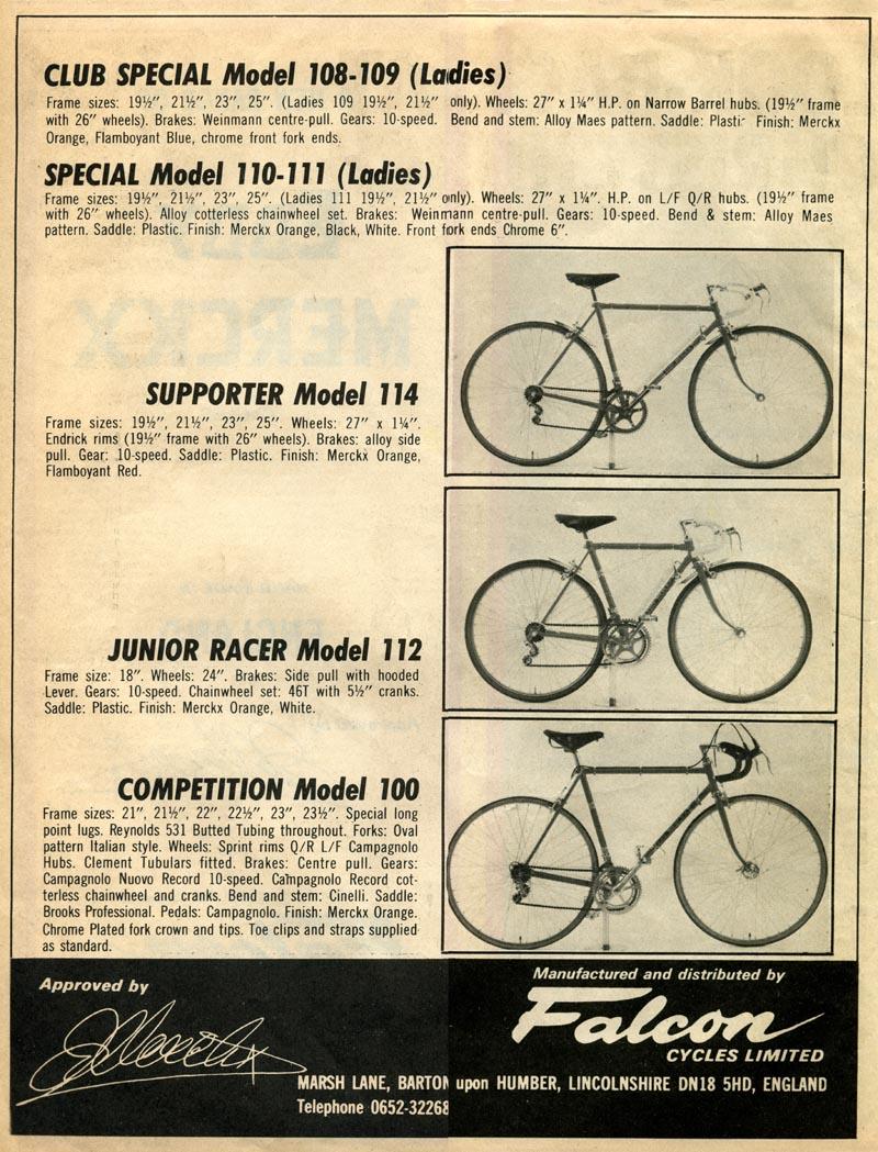 Falcon Eddy Merckx Ad p2