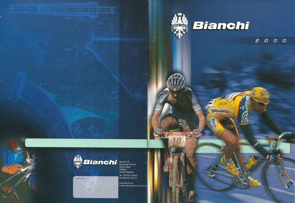 2000 Bianchi Catalogue - Cover