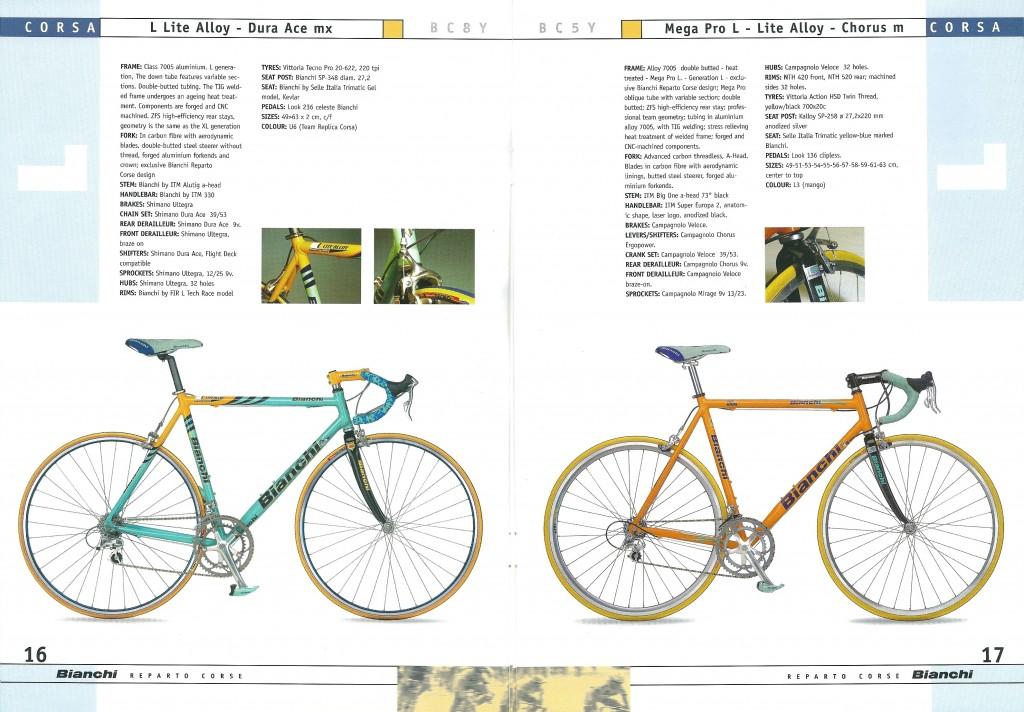 2000 Bianchi Catalogue - pp16-17