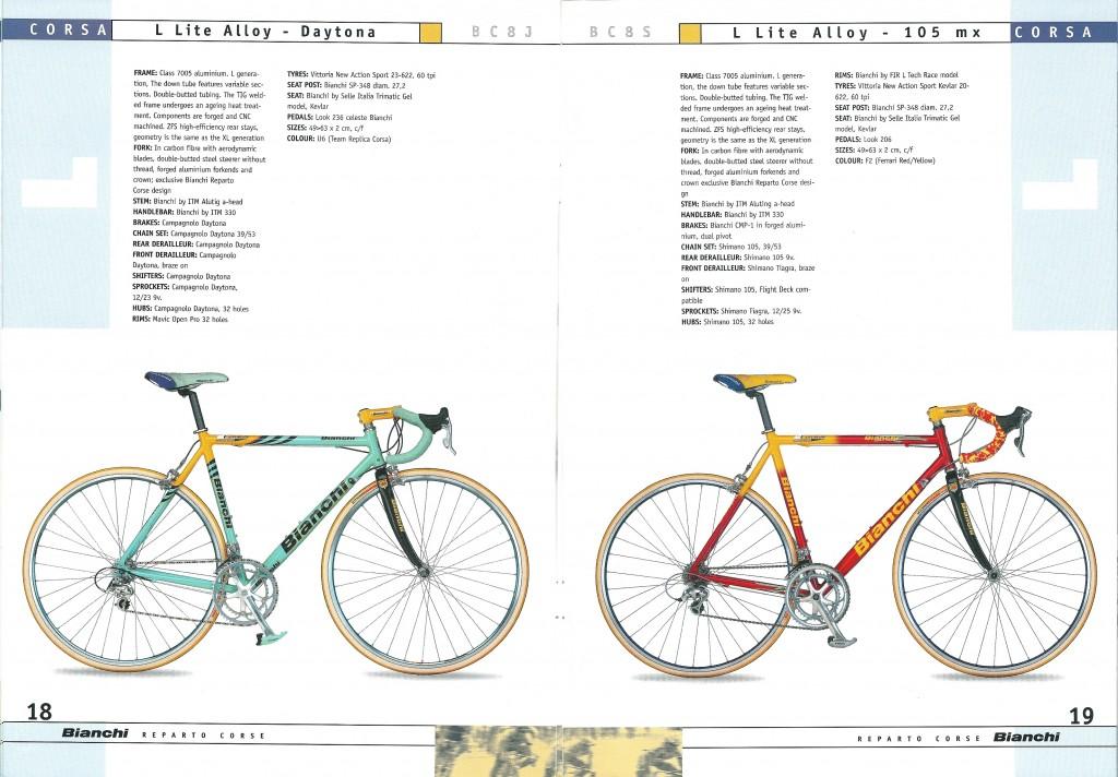 2000 Bianchi Catalogue - pp18-19