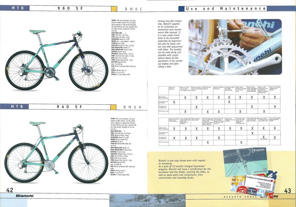 2000 Bianchi Catalogue - pp42-43