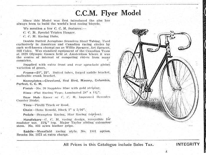 CCM Catalog Page