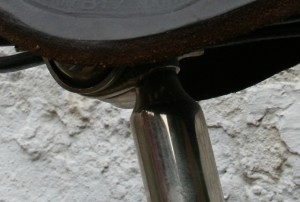 1930 CCM Flyer - seat post