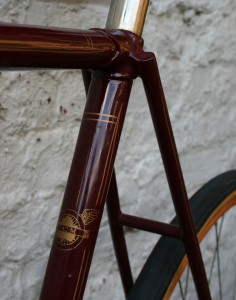 1930 CCM Flyer - seat tube