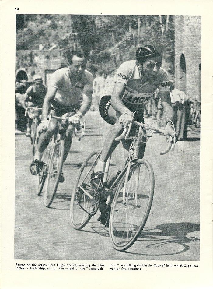 Fausto Coppi - CSC May 1957