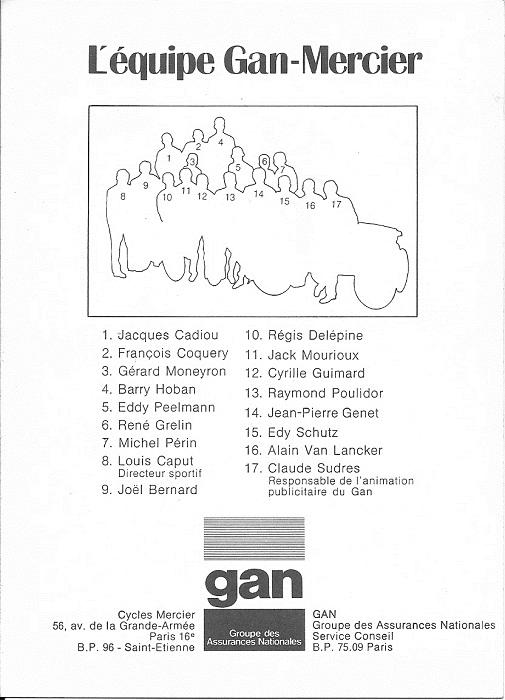 Gan Mercier Team