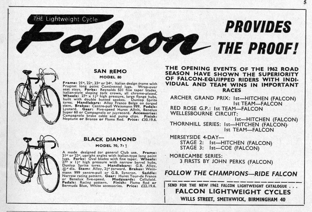 Falcon Advertisement 1962
