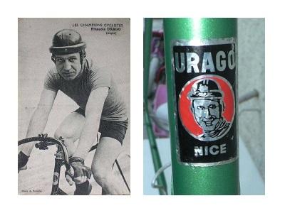Francois Urago and Head Badge