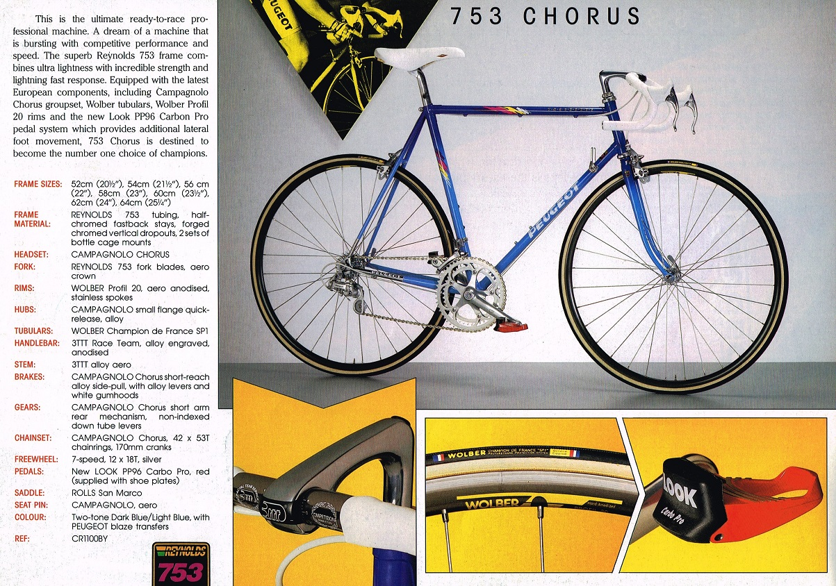 1990 peugeot catalogue | classic factory lightweights